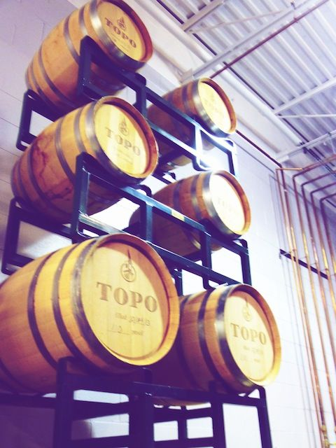 casks http://epicureandculture.com/north-carolina-attractions-organic-distillery/
