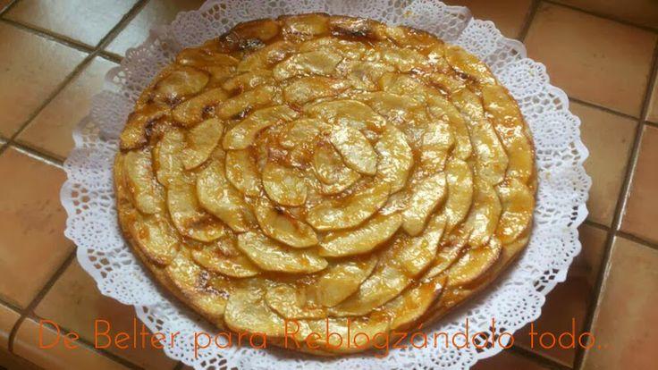 Reblogzándolo todo. La tarta de manzana más facil del mundo