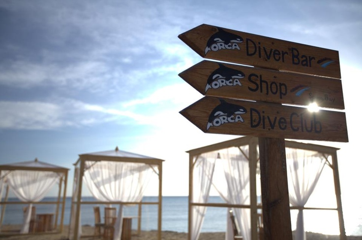 Perfect seaside location for romantic beach dinners and exciting dives