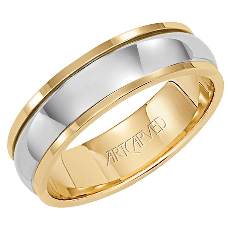 Wedding Rings Yellow And White Gold