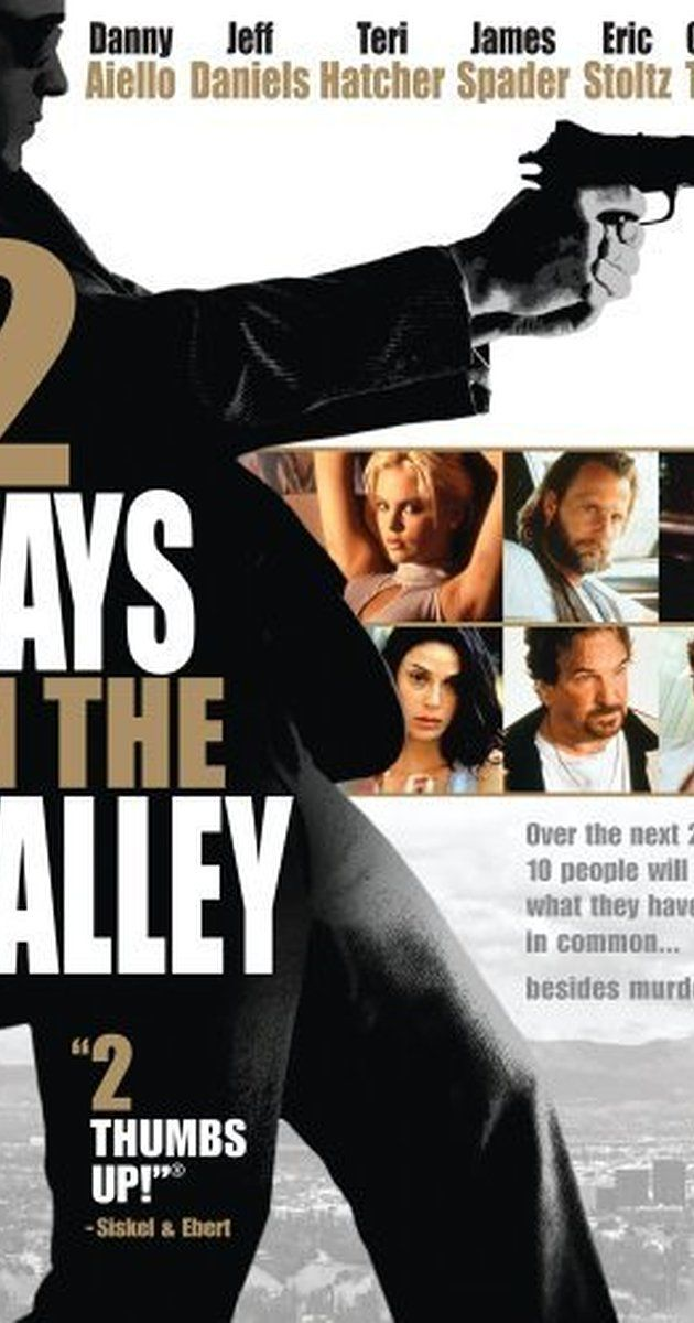 Directed by John Herzfeld.  With Teri Hatcher, Jeff Daniels, Danny Aiello, Charlize Theron. 48 hours of intersecting lives and crimes in Los Angeles.