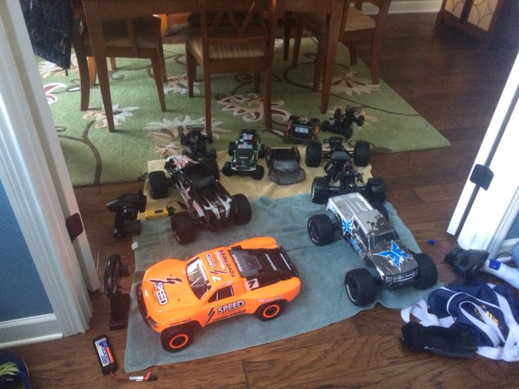 Not all but a lot of all my friends and mine rc cars