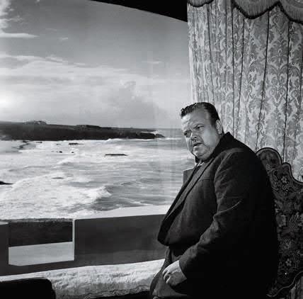 Orson Welles at Guincho, Portugal  By Eduardo Gageiro