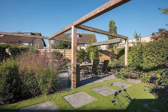 #tuinieren, #tuin, #pergola, http://www.hetmulligen.nl