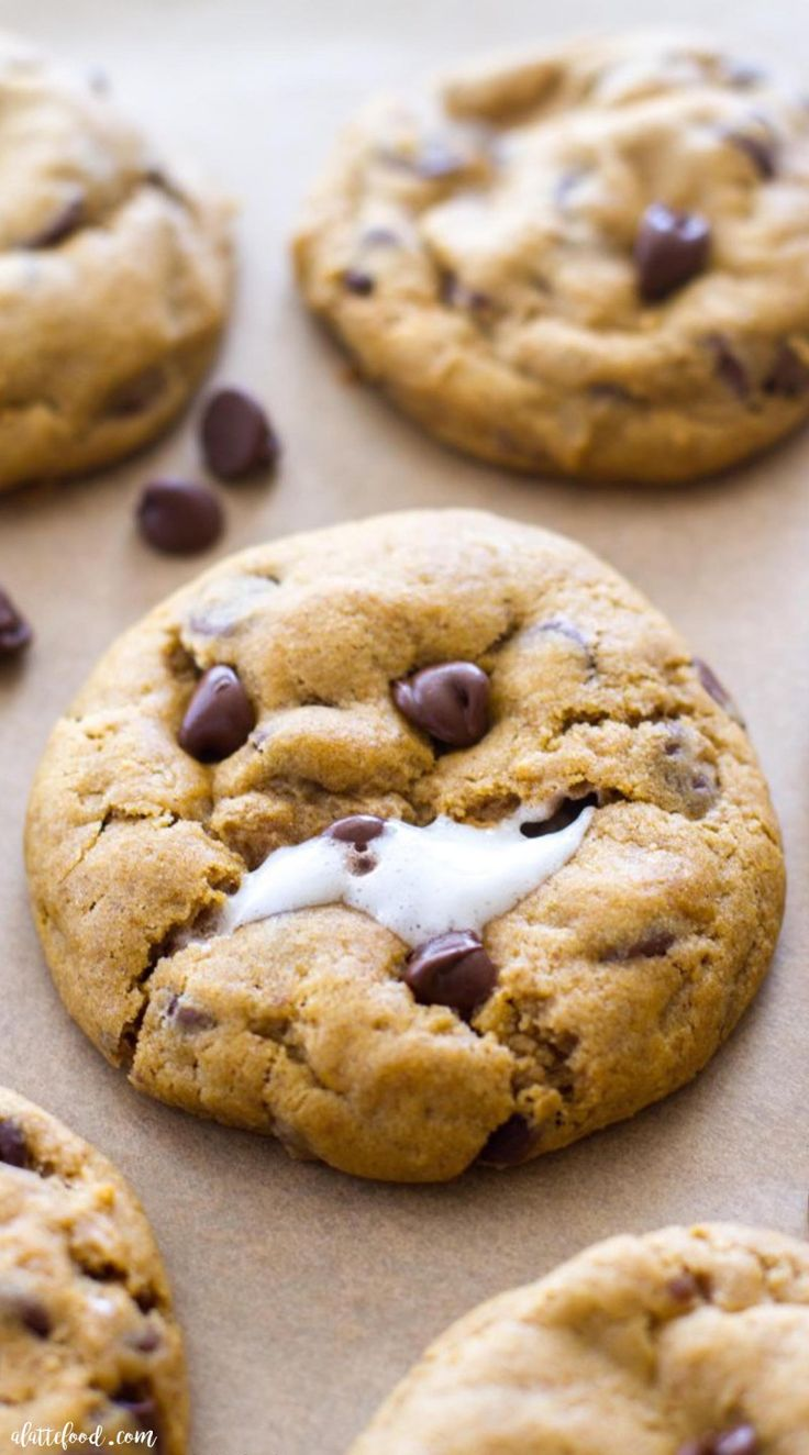 Baking Recipes Desserts Cookies Chocolate Chips
