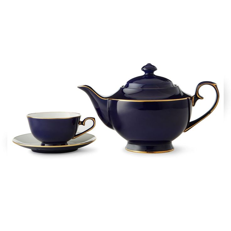 Teavana sapphire blue teapot set i want pinterest tea sets teas and blue - Teavana teapots ...