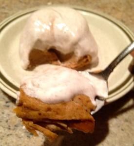 Pumpkin Casein Mug Cake