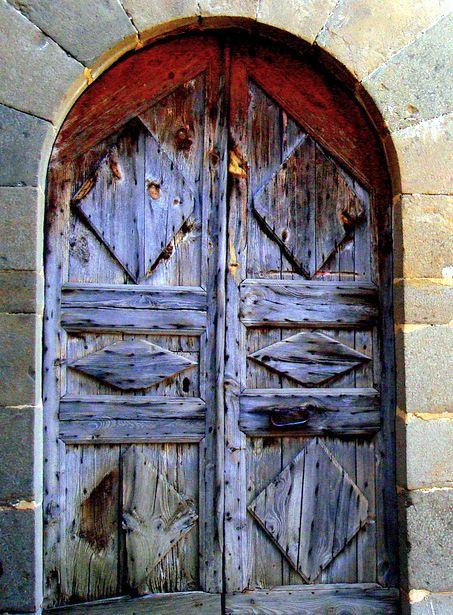 Gisclareny, Barcelona, Spain: Carvings Wood, Purple Door, Age Doors, Doors Knobs, Age Wood, Paintings Wood, Purple Wood, Barcelona Spain, Wood Doors