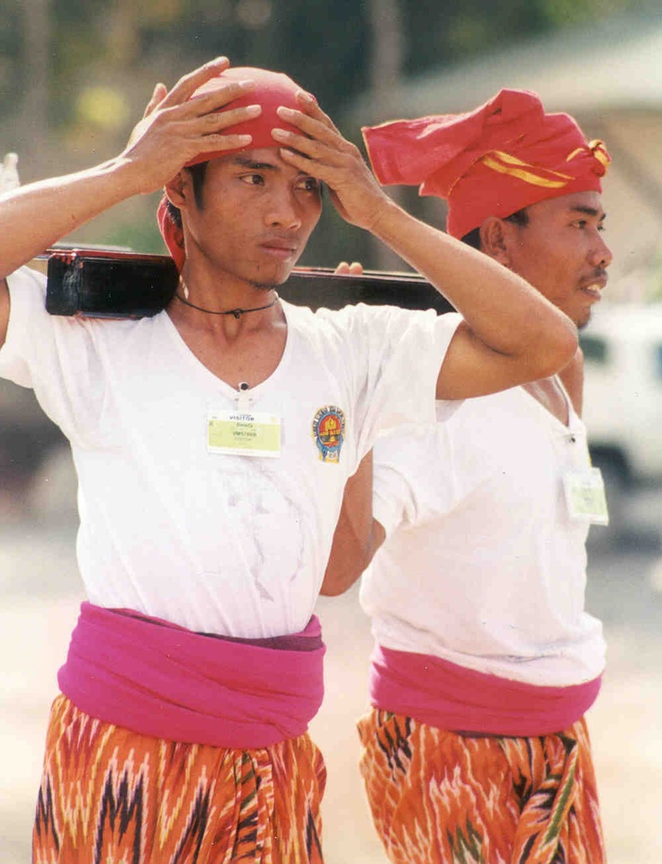 Indenpendence Day parade. Sumbawa, Indonesia.