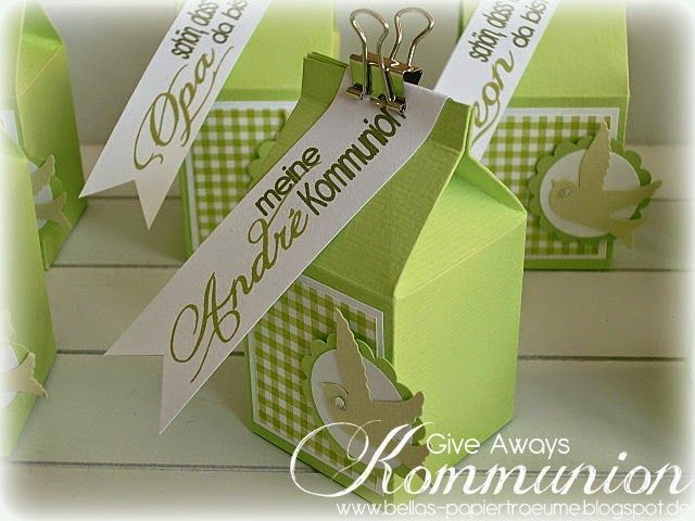 Kommunion - Give Aways