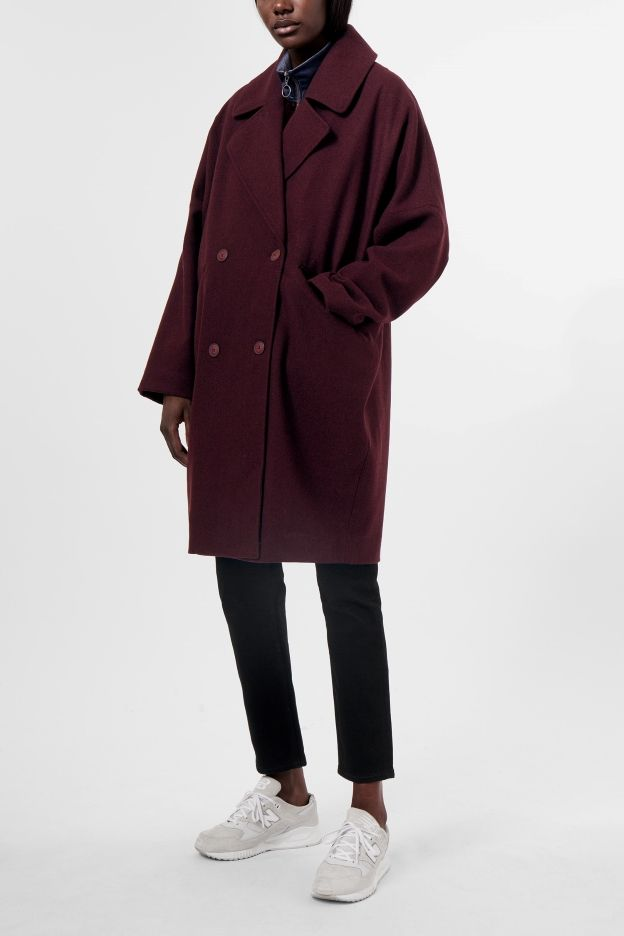 Weekday image 7 of Cilla Coat in Red Dark