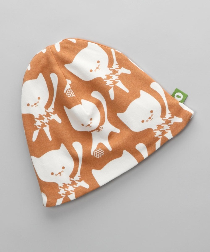 Nosh Organics         Kitten Beanie - Infant, Toddler & Girls