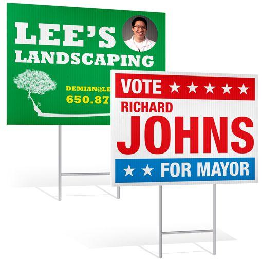 Landscape Commercial Sign: Best 25+ Custom Yard Signs Ideas On Pinterest