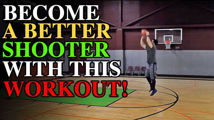 How To: Shoot A Basketball Like A Pro! Shooting Workout #4 of 6