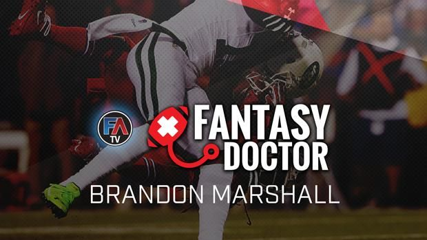 Video: The Fantasy Doctor - Brandon Marshall - Fantasy Alarm TV