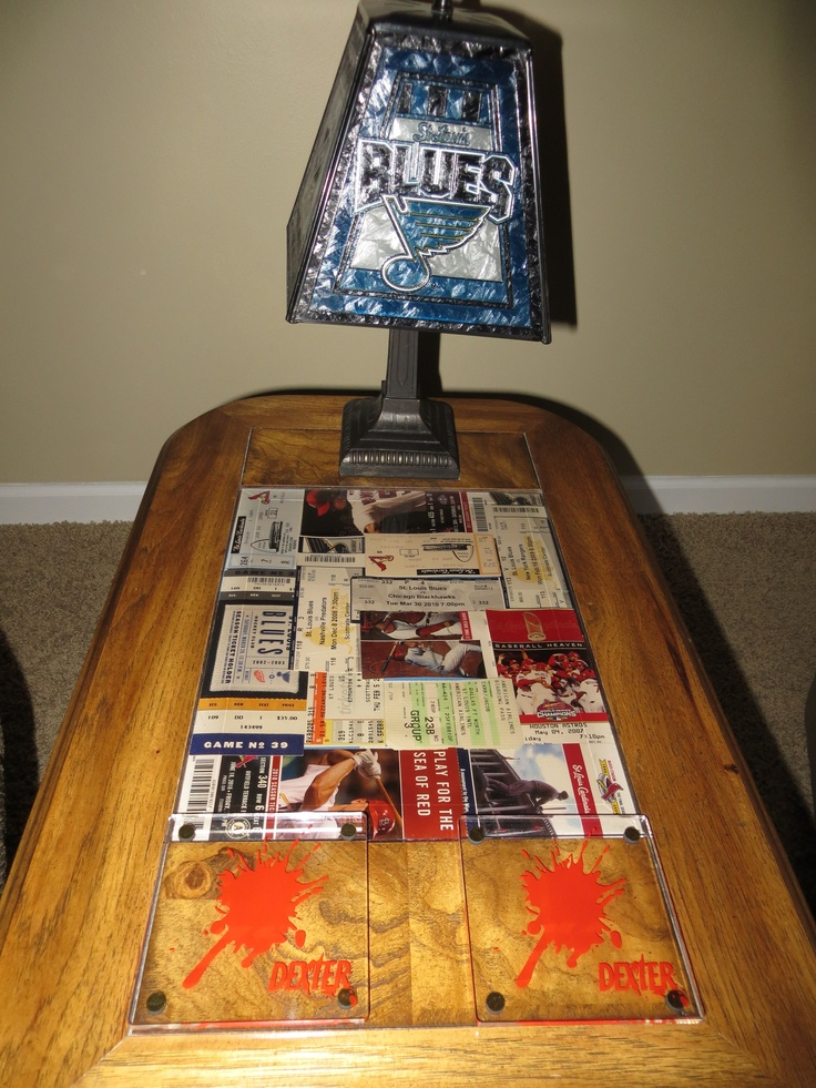 1000 Images About Ways To Display Concert Tickets On