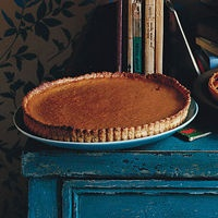 Pumpkin Tart with Anise Seed Crust