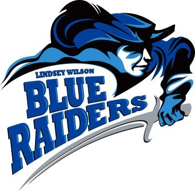 Blue Raiders, Lindsey Wilson College (Columbia, Kentucky), Div I, Mid-South Conference #BlueRaiders #Columbia #NAIA (L12009)
