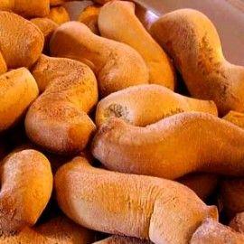 Biscotti della monaca   Dolci Siciliani