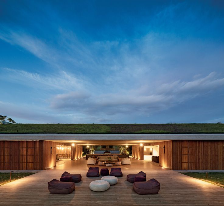 Modern Homes in Nature Photos | Architettura Digest Braganza Paulista, Brazil