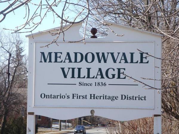 Old Meadowvale Village Mississauga Ontario Canada