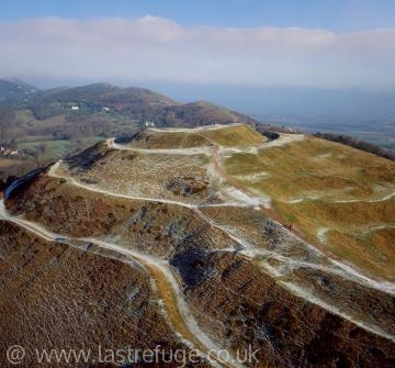 Prehistoric & Roman fort, British Camp at the southern end of the Malvern Hills, Worcestershire