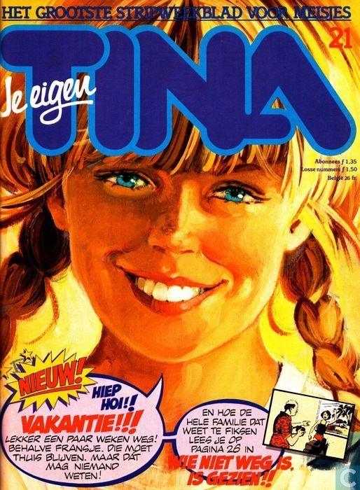 Strip - Tina (tijdschrift) - 1982 nummer  21