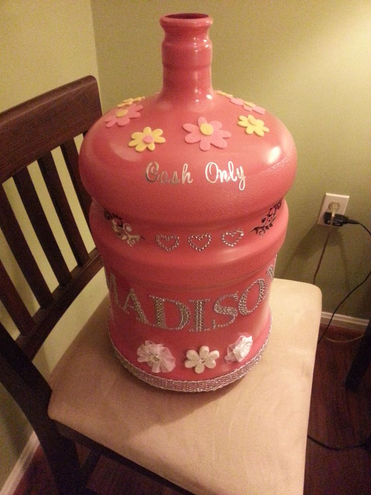 After- 5 Gallon Water jug - Childs bank