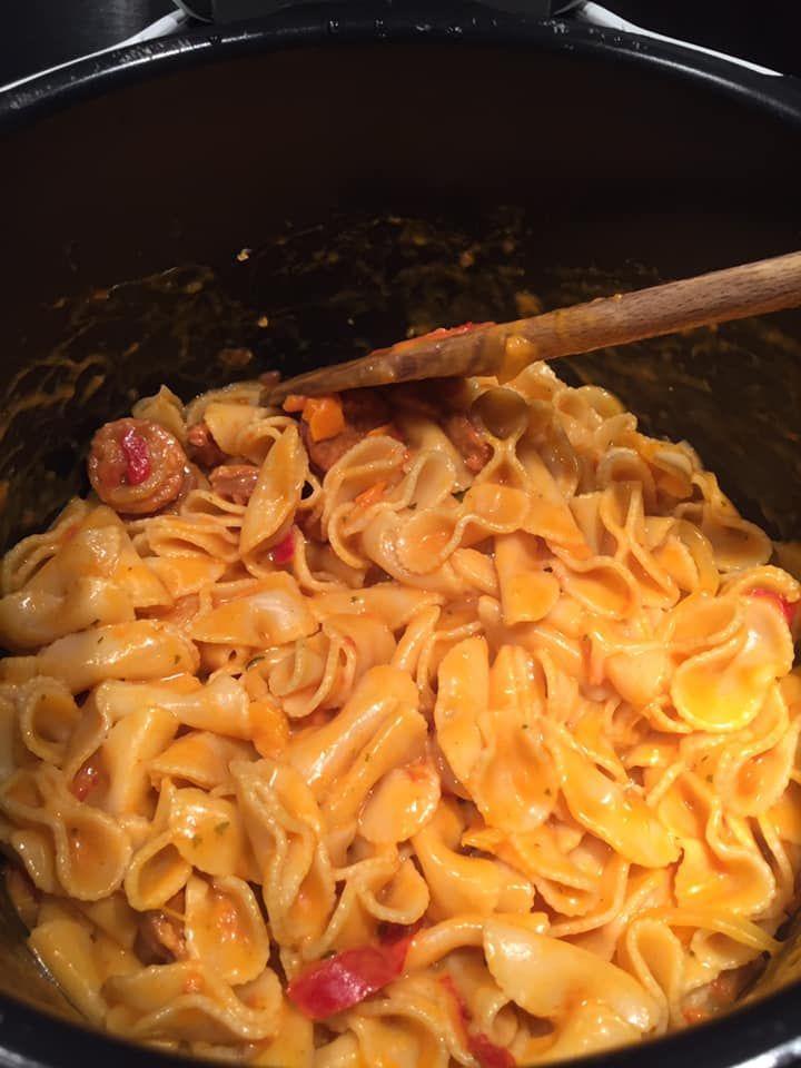 One pot pasta chorizo poivrons - Recettes Cookeo | Recette de plat, Idee recette cookeo, Cookeo ...