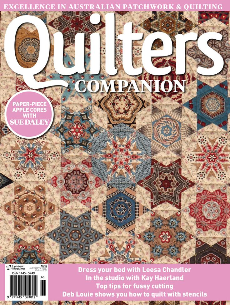 Quilters Companion #65 cover