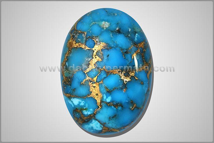 Batu Mulia Antik PIRUS Urat Emas