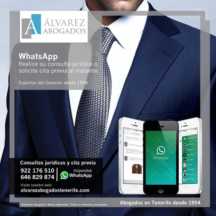Solicite cita previa o realice su consulta jurídica con nuestros abogados en Tenerife por WhatsApp. Cerca de usted, la mejor opción. https://alvarezabogadostenerife.com/?p=5430