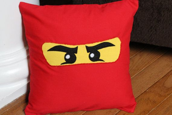 Ninjago Pillow Case by CreativeKryptonite on Etsy, $15.00