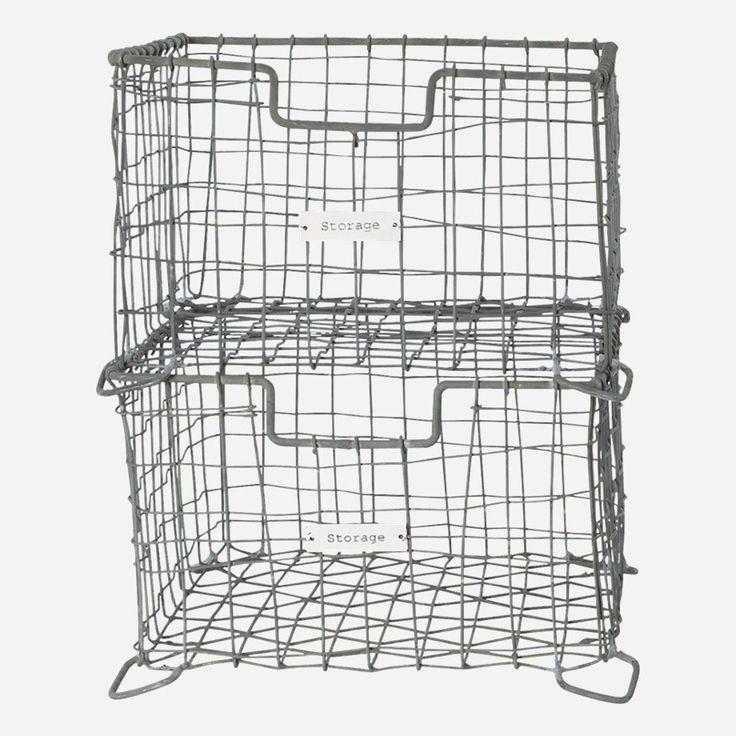 Vintage Storage Basket, House Doctor