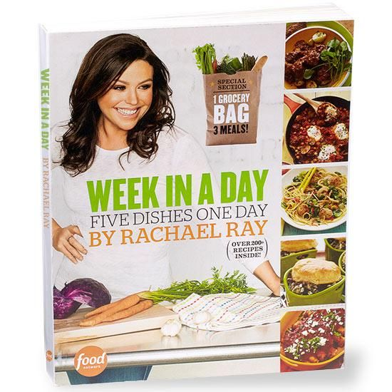 Week in a Day: Five Dishes One Day by Rachael Ray #RRGiftGuide
