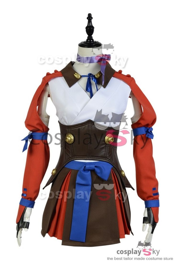 Kabaneri of the Iron Fortress Mumei Battle Suit Cosplay Costume_1