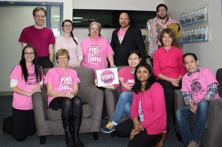 At PCRS, we band together in the fight against bullying. That's our #PinkShirtPromise. 2017