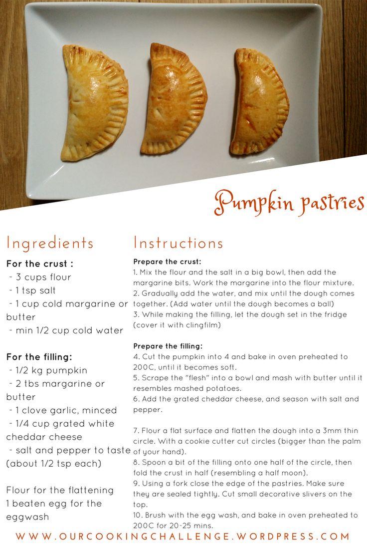 pumpkin pastries