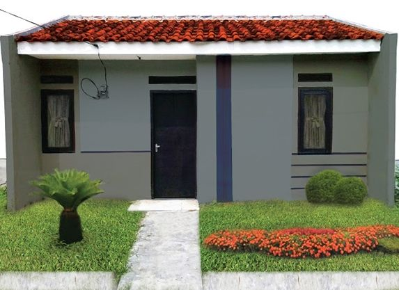 model rumah minimalis modern 1 lantai type 36 6