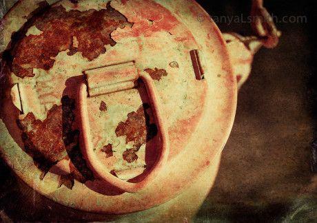 fine art Photography. rustic. rust. old lantern