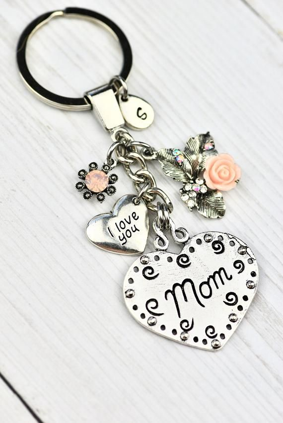 Me to You Lovely Mummy Flower Keyring