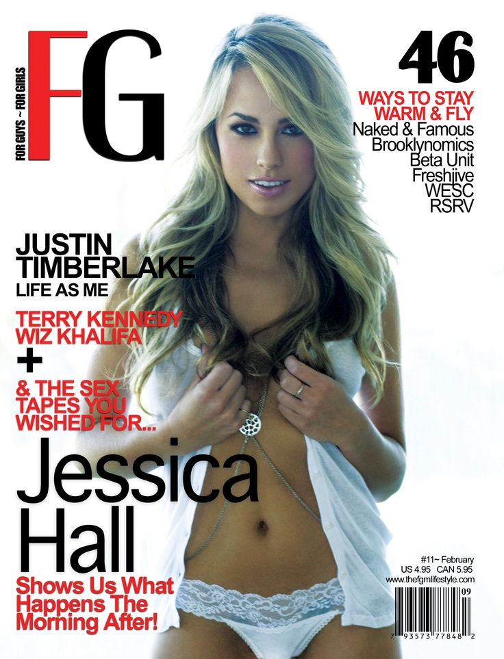 Jessica Hall for FG February 2011Fg February, Covers Models, February 2011, Magazines Covers