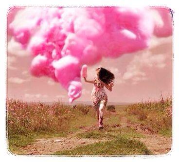 Nubes rosadas......