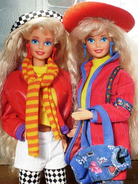 Barbie Benetton & Benetton Shopping by illina86, via Flickr