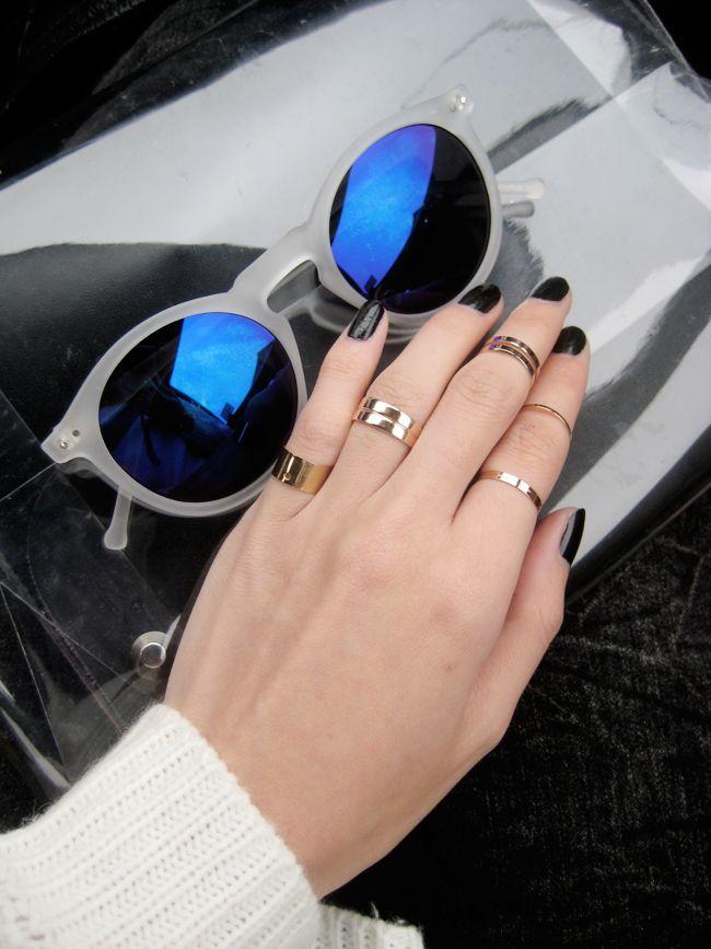 1FINEDAI:  Retro P3 Round Revo Lens Colorful Sunglasses 8932
