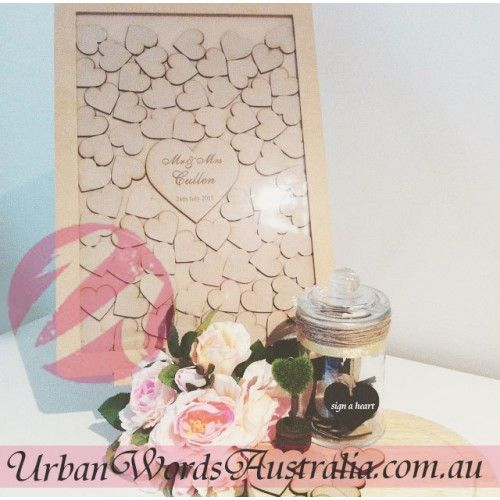 wedding drop box signature frames guest book mdf wedding wooden words table decor pinterest guest books frames and book