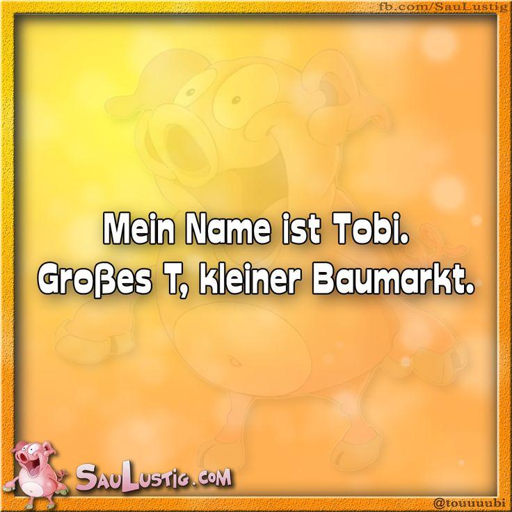 Mein Name ist Tobi