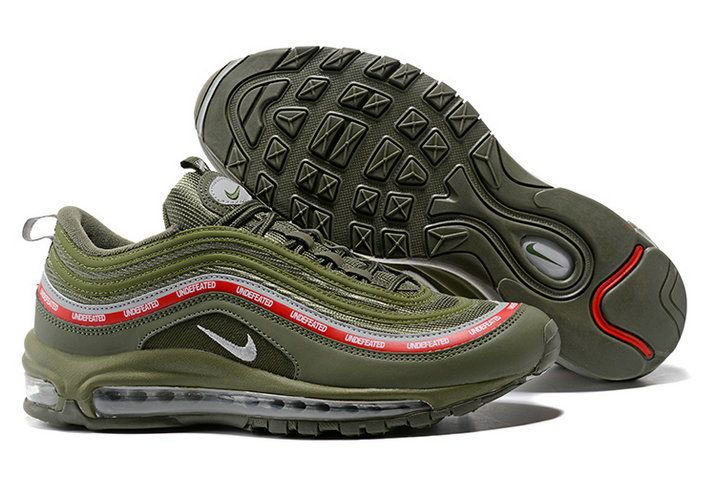 competitive price 87b54 d7c12 Shop Nike Air Max 97 OG UNDFTD Black Gorge Green White Speed Red AJ1986-001  2017 Fall Winter
