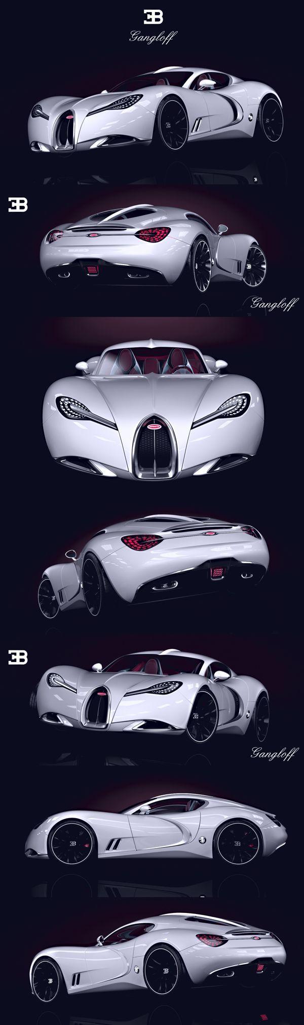 Bugatti Gangloff Concept  -100% badass!