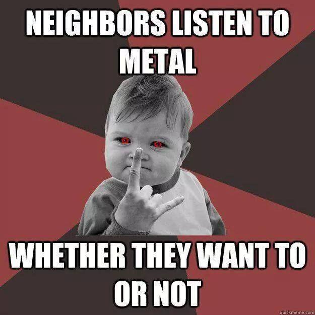 81 Best Metal Memes Images On Pinterest